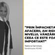 Tatiana Cemîrtan: Prin împachetarea afacerii, am ridicat nivelul vânzărilor, ceea ce este foarte important.